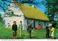 Oh Jonny boy: century Ireland in glorious technicolour Shares To mark St Patrick's Day, the Photographers' Gallery in London is releasing newly restored pictures of rural Ireland in the and by a pioneer of British and Irish postcard art, John Hinde County Clare, Irish Cottage, Postcard Art, Galleries In London, Picture Postcards, Art Archive, The Guardian, Old World, The Past