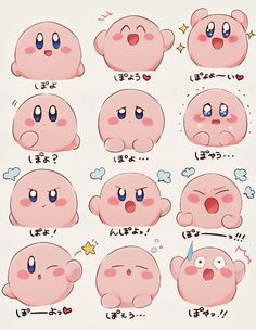 How is everyone feeling today? It's a top right corner day for me! #Kirby #Nintendo