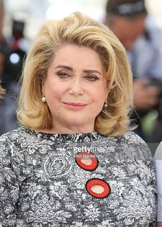 Catherine Deneuve attends the 'La Tete Haute photocall during the 68th annual Cannes Film Festival on May 13 2015 in Cannes France