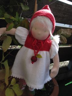 Little Cranberry, an adorable Waldorf Doll