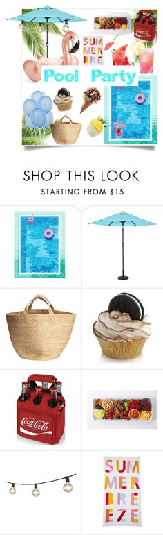 """""""Untitled #194"""" by onmytoesforalex ❤ liked on Polyvore featuring interior, interiors, interior design, home, home decor, interior decorating, Outdoor Oasis, Picnic Time, Bulbrite and Nordstrom Rack"""