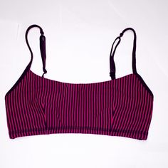 Lululemon Daily Bra SZ 4 Lululemon Daily Bra SZ 4 Plum Raspberry Glow  very good to excellent condition. ABSOLUTE lowest price no trades lululemon athletica Intimates & Sleepwear Bras