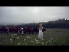 Woman Sings Ancient Swedish Song To Call The Cows
