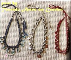 Neckles Crochet and Beads Tutorial