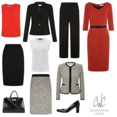Capsule Wardrobe Collection is a Personal Styling and online capsule wardrobe service for business women. Effortless, chic and understated executive style. Business Outfits Women, Business Dresses, Business Fashion, Business Women, Business Style, Business Wear, Executive Woman, Executive Fashion, Executive Style