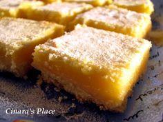 Cinara's Place: Lemon Bars