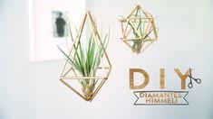 Diamantes Himmeli de color dorado para colgar | DIY Westwing