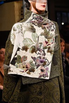 View all the detailed photos of the Antonio Marras autumn (fall) / winter 2016 showing at Milan fashion week.  Read the article to see the full gallery.
