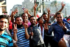 At Tahrir Square on election day, everyone wanted their picture taken via Pete Willows #Egypt