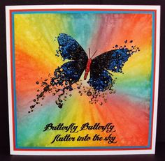 Visible Image stamps - Butterfly INKognito - Inky Butterfly - Pauline Butcher
