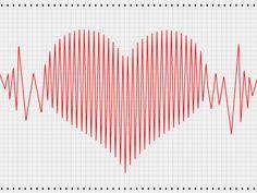 HA! Heart shaped.. sort of looks like a weird torsades de pointes