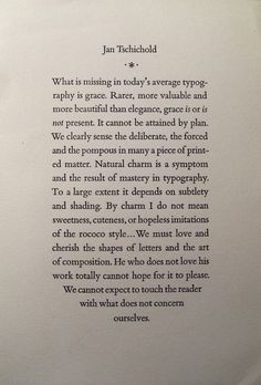 Quotation from Contemporary Typography, The New Laboratory Press, 1961. Reprinted for the Typophiles by George Laws, September 22, 1982. via Paul Ritscher