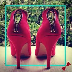 Shoes... A woman's best friend... And red says celebrate! #friends #happyfriendshipday #shoes #INTOTOs