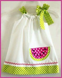 Trendy Sewing For Kids Summer For Girls Ideas Sewing Kids Clothes, Sewing For Kids, Baby Sewing, Doll Clothes, Pillowcase Dress Pattern, Baby Dress Patterns, Pillowcase Dresses, Toddler Dress, Toddler Outfits