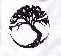 Family Tree Tattoo...have to get it! I've been looking for something that symbolizes my family.