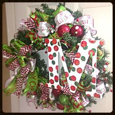 A Fun Christmas Wreath