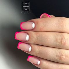 Neon Pink Tips You'll Want To Try #neonnails #pinknails #neonfrenchtips #colorfulfrenchnails #mattenails ★ French nails design ideas and tips for natural or acrylic, short or long nails with glitter or other accessories. ★ See more: http://glaminati.com/french-nails-design-ideas/ #frenchnails #frenchmanicure #frenchmani #frenchnailsdesign #glaminati #lifestyle