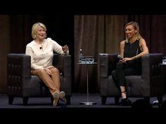 Giuliana Rancic Interviews Martha Stewart at Intuit QuickBooks Connect - Martha Stewart - YouTube