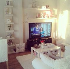 Ikea Decorating Ideas Living Room living room via vaaleanpunainen hirsitalo | divaaniblogit.fi