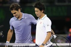 Kei Nishikori - ´I think Roger Federer is getting better´