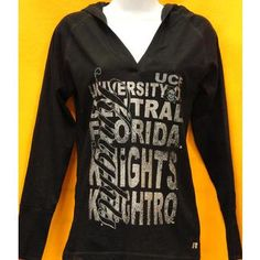 Long Sleeve Hooded Screenprint Tee @ Gray's College Bookstore