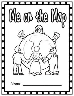 After Learning About Different Communities And Where You Are On The Map The Students Create Their