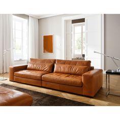 Sofa MORENO cognac kleur. Prachtig!