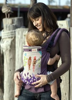 Beco Butterfly 2-I have this carrier in a different print!  It is awesome, both boys love it.
