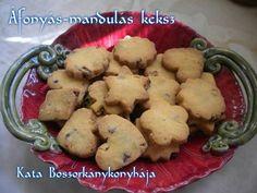 Áfonyás-mandulás keksz (Gluténmentes) Paleo, Cookies, Desserts, Food, Crack Crackers, Tailgate Desserts, Deserts, Biscuits, Essen