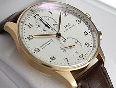 IWCポルトギーゼクロノ ローズゴールド IW371402 銀 -IWC時計コピー