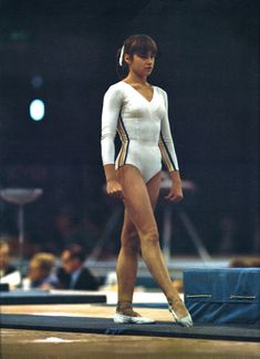 Gymnastics Pictures, Sport Gymnastics, Nadia Comaneci, Sports Stars, My Childhood Memories, Sports Women, Running, Swimwear, Beautiful