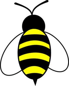 Large Bee Clip Art