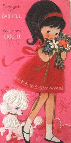 ┌iiiii┐                                                        Vintage Birthday Card