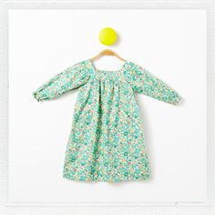 """Winnie"" Dress in Liberty Print ""Betsy D"""