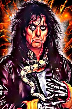 Fine Art Posters, Rock Posters, Concert Posters, Mr Nice Guy, A Good Man, Classic Rock Bands, Alice Cooper, Poster Making, Music Bands