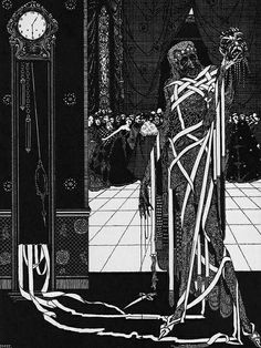 Harry Clarke, Illustrations for E. A. Poe, Tales of Mystery and Imagination, 1919
