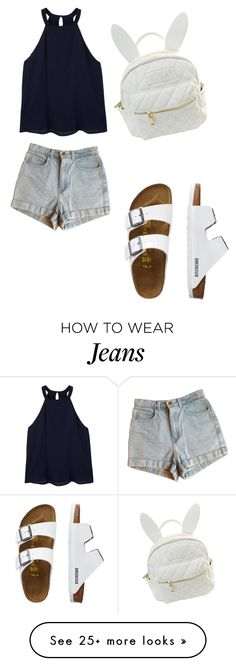 """""""Untitled #284"""" by deamolla on Polyvore featuring MANGO, American Apparel, TravelSmith and cutekawaii"""