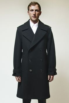 Vietto NYC Army Overcoat Black