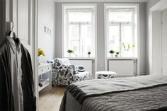 lovely grey for the bedroom