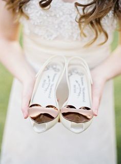 Cutest Flat Wedding Shoes for the Love of Comfort and Style - Shoes: Vivienne Westwood | Photography: Kay English via Ruffled