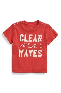 Peek 'Clean Waves' Graphic T-Shirt (Baby Boys) available at #Nordstrom