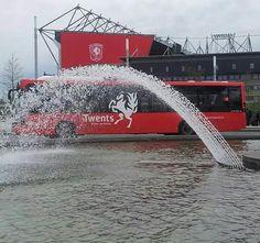Enschede, 2014, Twents bus voor Grolsch Veste, voetbalclub fc Twente