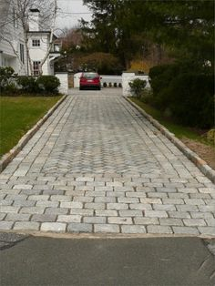 Stone driveway yahoo image search results stone driveway belgium block cobblestone driveway curbing solutioingenieria Images