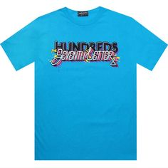 The Hundreds x Seventh Letter Fill In Tee in turquoise