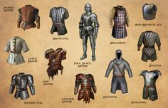 Brigandine, Lamellar, and Aventails... Oh My!