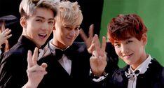 EXO Sehun Tao Beakhyun | I love seeing their smiles, it makes me happy |