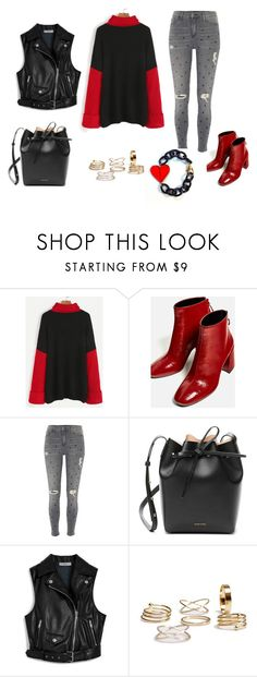 """LOOK DEL DIA"" by aliciagorostiza on Polyvore featuring moda, River Island, Mansur Gavriel y Mulberry"