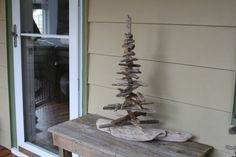 Large driftwood tree sculpture by reclaimednj on Etsy, $80.00