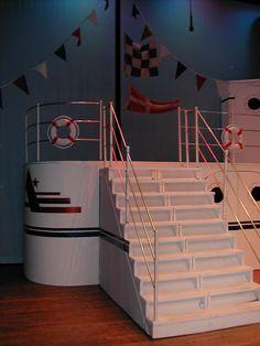 Boat Props, Cruise Party, Stage Set Design, Gentlemen Prefer Blondes, Dad Birthday, Nautical Theme, Theme Ideas, Titanic, Alaska