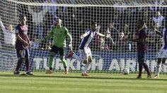 Alexis Sánchez no pudo impedir una n ueva caída de FC Barcelona en la liga española   Valladolid le propinó otro revés a Barcelona de Sánchez